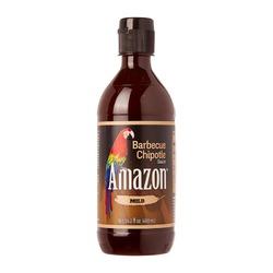 Mírně pálivá Amazon Omáčka Barbecue Chipotle 480 ml