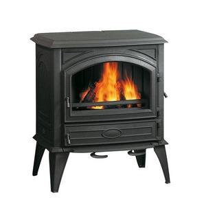 Litinová krbová kamna Dovre 640GM - multipalivová kamna na dřevo a uhlí s bočními dvířky