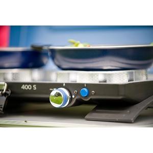 Plynový vařič Campingaz 400-S STOVE - dvouplotýnkový přenosný vařič