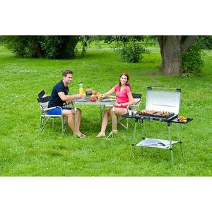 Plynový vařič Campingaz 600-SG STOVE - dvouplotýnkový vařič s grilovací plotýnkou