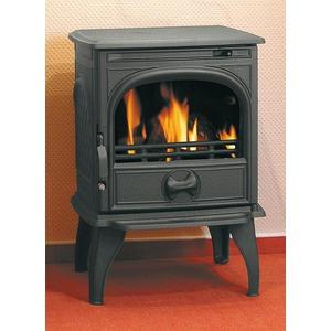 Litinová krbová kamna Dovre 250 - multipalivová kamna na dřevo a uhlí