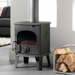 Krbová kamna DRU 44 MF - kamna na dřevo a uhlí
