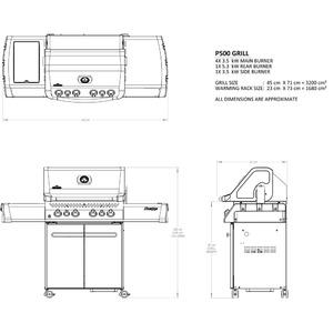 Kanadský plynový gril Napoleon PRESTIGE P500 - kvalitní gril pro nejnáročnější