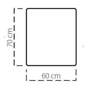 Plech pod kamna SAVE D 70x60 cm