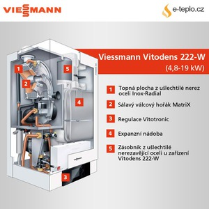 viessmann vitodens 222 w plynov kondenza n kotel e. Black Bedroom Furniture Sets. Home Design Ideas