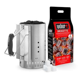 Zapalovací set WEBER Rapid Fire - snadné rozpálení kotlového grilu