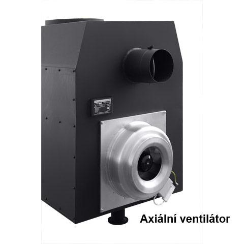 Teplovzdušná kamna s ventilátorem