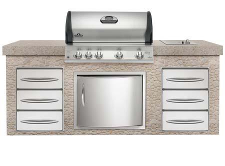 napoleon mirage bim605 vestavn plynov gril e. Black Bedroom Furniture Sets. Home Design Ideas