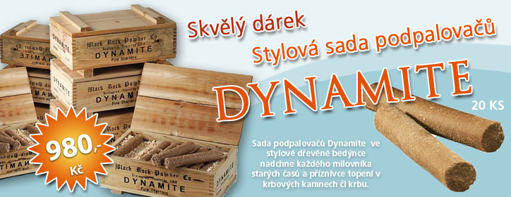 Stylov sada zapalova do kamen DYNAMITE