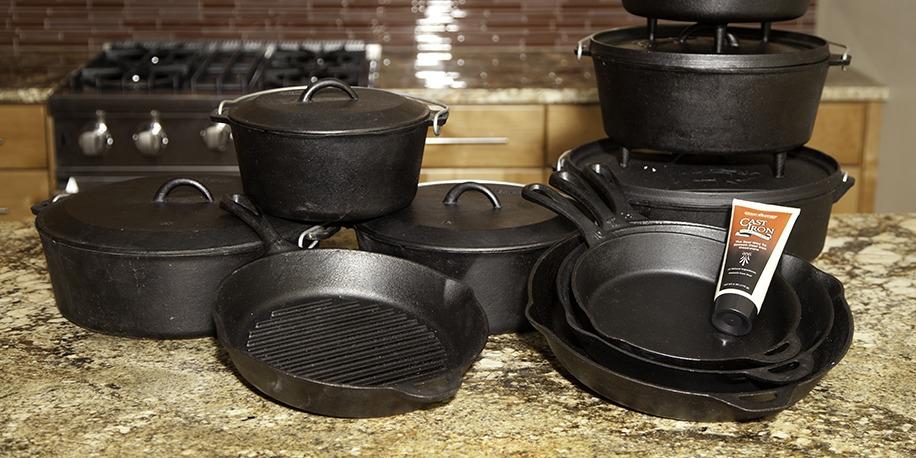 Litinové grilovací nádobí Camp Chef - vysoká kvalita a užitná hodnota za příznivé ceny