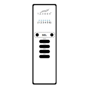 Infračervený zářič Tansun BAHAMA SINGLE - příplatkové příslušenství - dálkový ovladač