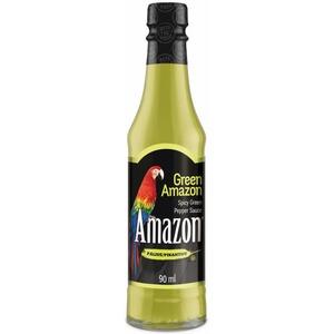 Amazon Green Pepper Sauce - omáčka ze zelených amazonských papriček (pálivá) 90ml