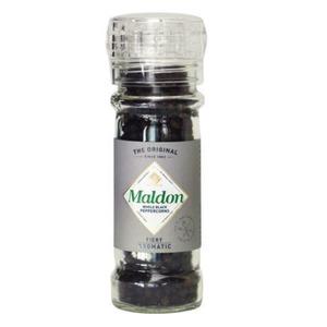 Maldon Whole Black Peppercorns Grinder - doplňovací mlýnek s celým pepřem Maldon 50g