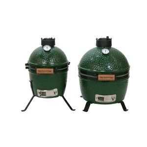 Keramický gril Big Green Egg MiniMax - malý rozměry, velký plochou pro vaření a grilování