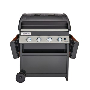 Plynový gril Campingaz 4 SERIES DH CLASSIC WLD - gril s oddělenými grilovacími plochami pro nezávislé grilování různých pokrmů