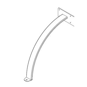 Infračervený zářič Tansun BAHAMA SINGLE - příplatkové příslušenství - distanční ramenový držák