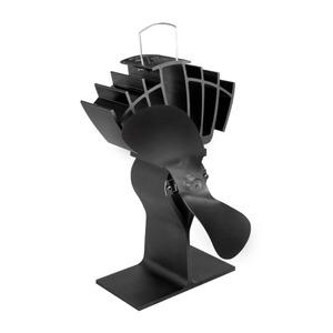 Samočinný ventilátor na krbová kamna ECOFAN 810 - provedení černé