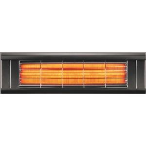 Elektrický karbonový zářič IQ-AERO černý - ručně ovládaný zářič