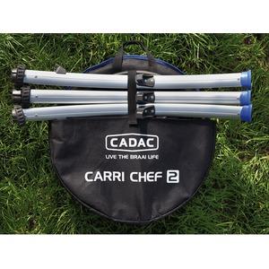 Přenosný plynový gril Cadac CARRI CHEF 2 BBQ - rozložený stav