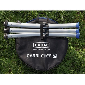 Přenosný plynový gril Cadac CARRI CHEF 2 BBQ SKOTTEL - složený stav