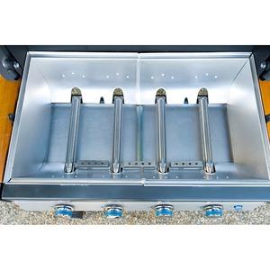 Plynový kontaktní gril Campingaz 4 SERIES WOODY LX