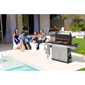 Plynový gril Campingaz 4 SERIES RBS LXS - plynový gril s RBS technologií