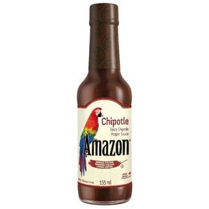 Amazon Omáčka Chipotle 155ml - 111914 - mírně pálivá omáčka z kolumbijských chilli papriček Chipotle Spicy Sauce