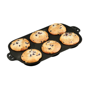 Litinová forma Camp Chef na muffiny velká - připravte dokonale zlatavé muffiny