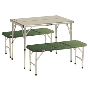 Kempingový stolek + 2 lavice pro 4 osoby Coleman Pack-Away™ table for 4