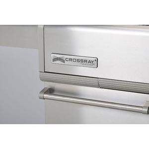 Plynový gril s infračervenými hořáky CROSSRAY+ 2 - velmi kvalitní gril s unikátní technologií pro snadné a zdravé grilování