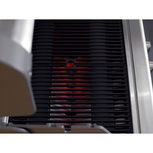 Vestavný plynový gril s infračervenými hořáky CROSSRAY+ 4 in-built - detail grilovacího roštu
