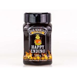 Grilovací koření Happy Ending (220g) - vyvážená směs koření pro finální dochucení hotových steaků