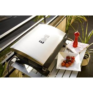 Elektrický gril GRANDHALL E-GRILL - elegantní gril na balkón i na cesty