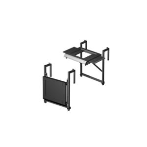 Elektrický gril GRANDHALL E-GRILL - příplatkový sklopný nástěnný stolek