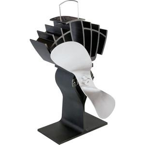 Samočinný ventilátor na krbová kamna ECOFAN 810 - provedení nikl