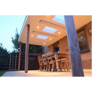 Elektrický tepelný zářič HEATSTRIP Elegance Radiant Heater 1800 W  - zapuštěná stropní instalace