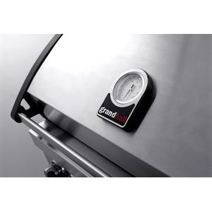 Plynový gril GrandHall ELITE  G4 se zadním a bočním infrahořákem - elegantní, kvalitní a skvěle vybavený celonerezový gril