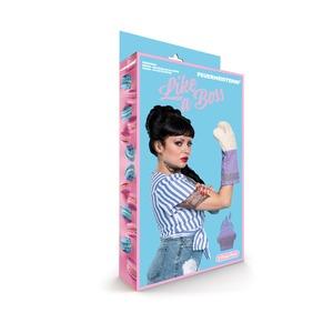Kuchyňské rukavice Premium modré (pár) - baleno v atraktivním obalu.
