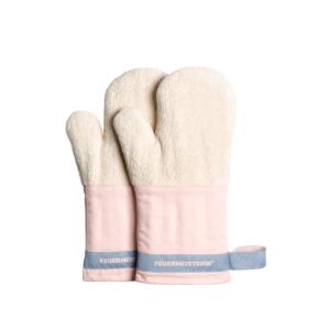 Kuchyňské rukavice Premium růžové (pár) - kuchyňské chňapky v exkluzivním designu