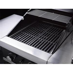 Plynový gril GrandHall CLASSIC G2 s bočním hořákem - menší gril vhodný pro grilování na balkóně nebo malé terase
