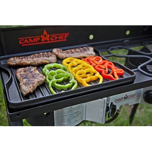 Plynový vařič Camp Chef EXPLORER STOVE 30 MB - příplatková oboustranná grilovací deska