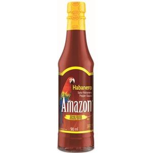 Amazon Habanero Pepper Sauce - Omáčka z habanero papriček (velmi pálivá) 90ml (11911)