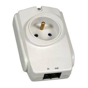 Zásuvková přepěťová ochrana pro elektrické spotřebiče do max. příkonu 3600 W - ochrana Vašeho elektrického zářiče vlivem elektrického přepětí