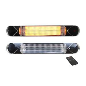 Elektrický karbonový zářič IQ-STAR 2000 BLACK - elegantní infrazářič s dálkovým ovládáním
