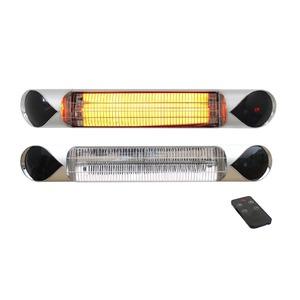 Elektrický karbonový zářič IQ-STAR 2000 SILVER - elegantní infrazářič s dálkovým ovládáním