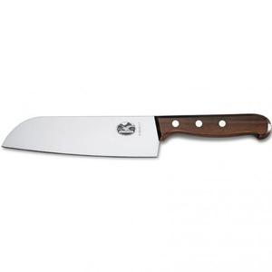 VICTORINOX Japonský nůž VICTORINOX SANTOKU 17 cm dřevo