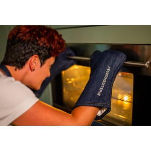 Kuchyňské rukavice Premium jeans (pár) - kuchyňské chňapky v exkluzivním designu