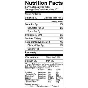 Přírodní grilovací omáčka KC Butt Sauce (595g) - univerzální pikantní BBQ omáčka pro všechny druhy masa