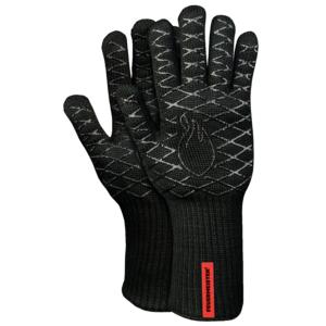 Kevlarové grilovací rukavice BBQ Premium (pár) - vysoce kvalitní rukavice s možností oboustranného použití s odolností do 350°C
