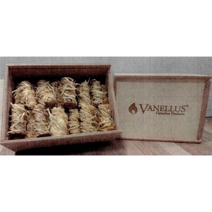 Stylová sada podpalovačů VANELLUS - praktický dárek pro každého uživatele krbových kamen